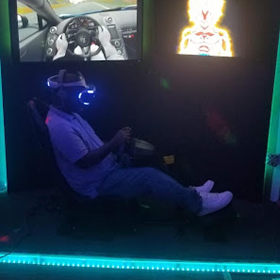 VR Racing Station